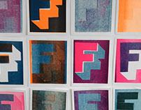Experimental Letterpress Prints