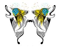 Wolfbutterfly