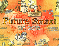 Live Illustration for SCI 2015 Future Smart. Conference