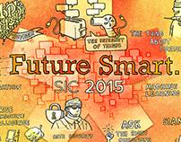 Live Illustration for SCI 2015 Future Smart. Conference
