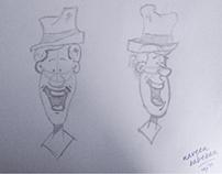 Cartoon Sketching - Faces