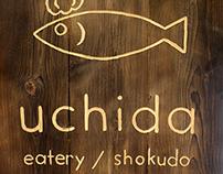 Uchida Shokudo Branding & Logotype