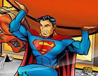 Preview Scott Stewart art of first Superman for kids