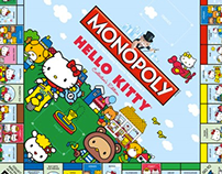Hello Kitty Monopoy (USAopoly)
