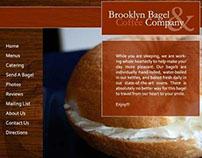 Website Redesign - Brooklyn Bagel & Coffee Company