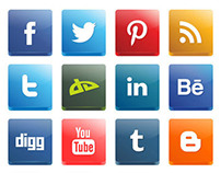 Vector 3D Social Media Icon Pack