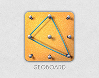 Geoboard Icon