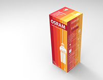 Osram CFL Bulb. (Interactive Package Design)