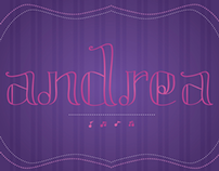 My Name in Musically Inspired Lettering