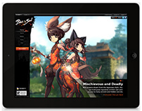 Blade and Soul Teaser Site