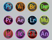 Adobe Icon for El Capitan, Mac OS