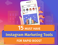Instagram Marketing Tools Infographic
