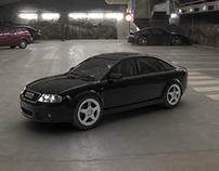 Audi RS6 HDRI Render