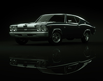 Studio Lighting Study | Chevrolet Chevelle SS 69