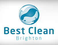 Brand identity for Best Clean Brighton