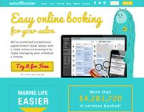 salonMonster Website