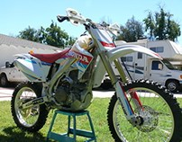 2006 CRF450R Custom Graphics