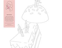 Rachelrax Cakes — Print Ad