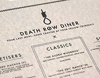 Death Row Diner Menu