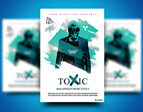 Toxic Music Event Flyer