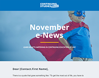 Email Template - Monthly Newsletter