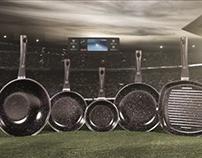 FCBarcelona frying pans tv ad