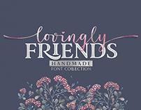 Lovingly Friends Font Family