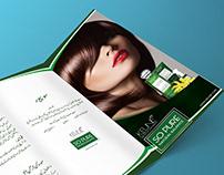 KEUNE trifold Brochure