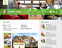 Personalized Realtor Website