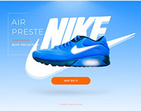 Nike Air Preste Blue Collection 2018