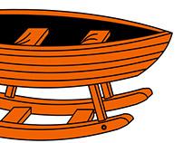 Лодка-качалка