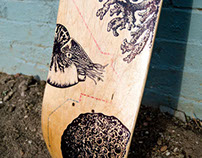 2012 Bordo Bello Skateboard Art