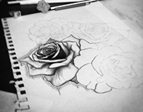 ℛoses ♥ drawing