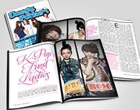 Daegu Pockets Magazine Spreads