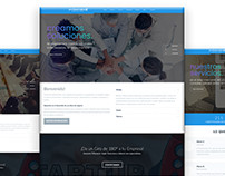Landing Page - Profesionales 4G