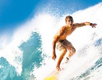 Surfing Café (Logo & Menu)
