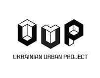 Ukrainian Urban Project logotype / landing
