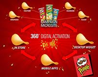 P&G - Pringles - Global Digital Concept & Strategy