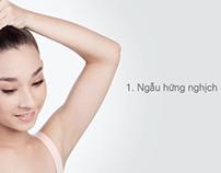 DOVE-Ngẫu hứng tóc chắc khỏe từ chân tóc
