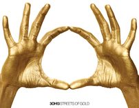 3OH!3 Streets of Gold Album Cover