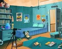 Animation Background