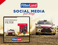 Filterland Social Media Post Design