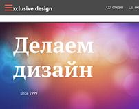 Web-studio Site Design