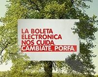vtr · Boleta electrónica