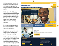 Medaille College | Website UI/UX Consultation