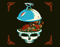 Dead & Company — Thanksgiving Illustration