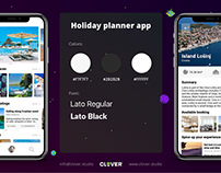 Holiday planner app