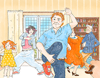 Let`s dance! A funny storyboard