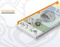 Shilshole - isometric information graphics