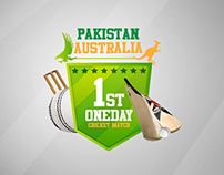 Pakistan Australia Dubai series 2012 logo